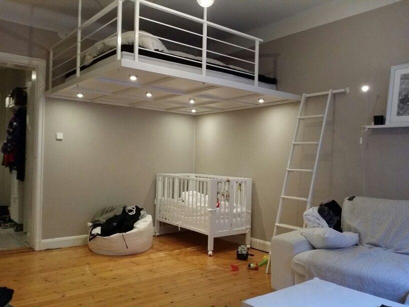 Bokhyllor Fridhemsplan : Över bilder om loft sovloft på walking closet