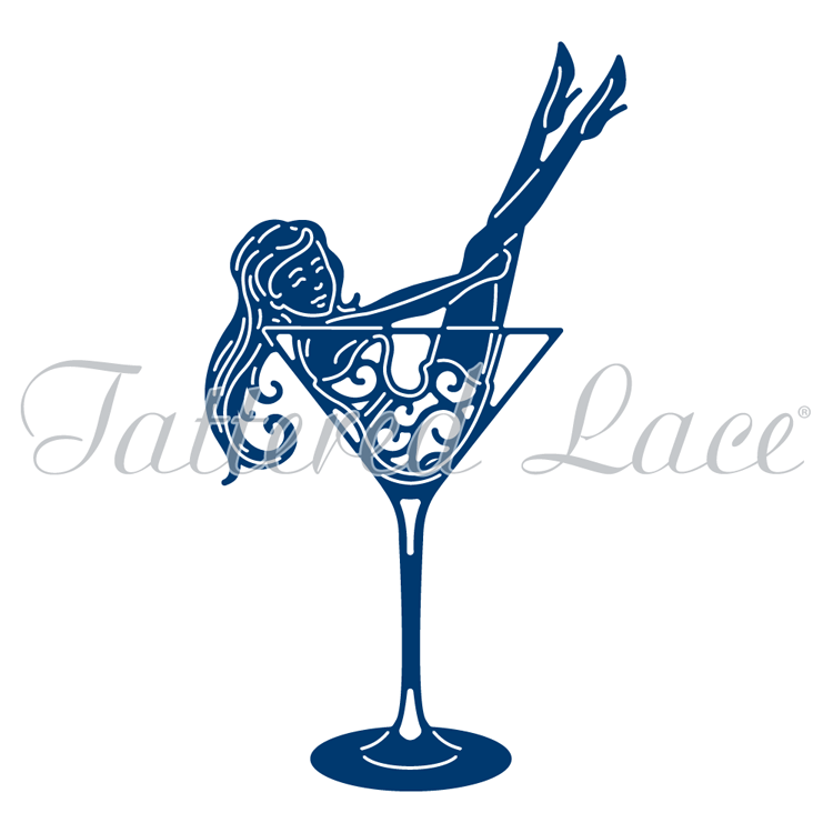 Tattered Lace Die - Cheers
