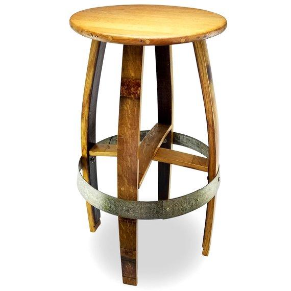 Brilliant Barrel Bar Stool Bar Stools Barrel Bar Stool Ncnpc Chair Design For Home Ncnpcorg