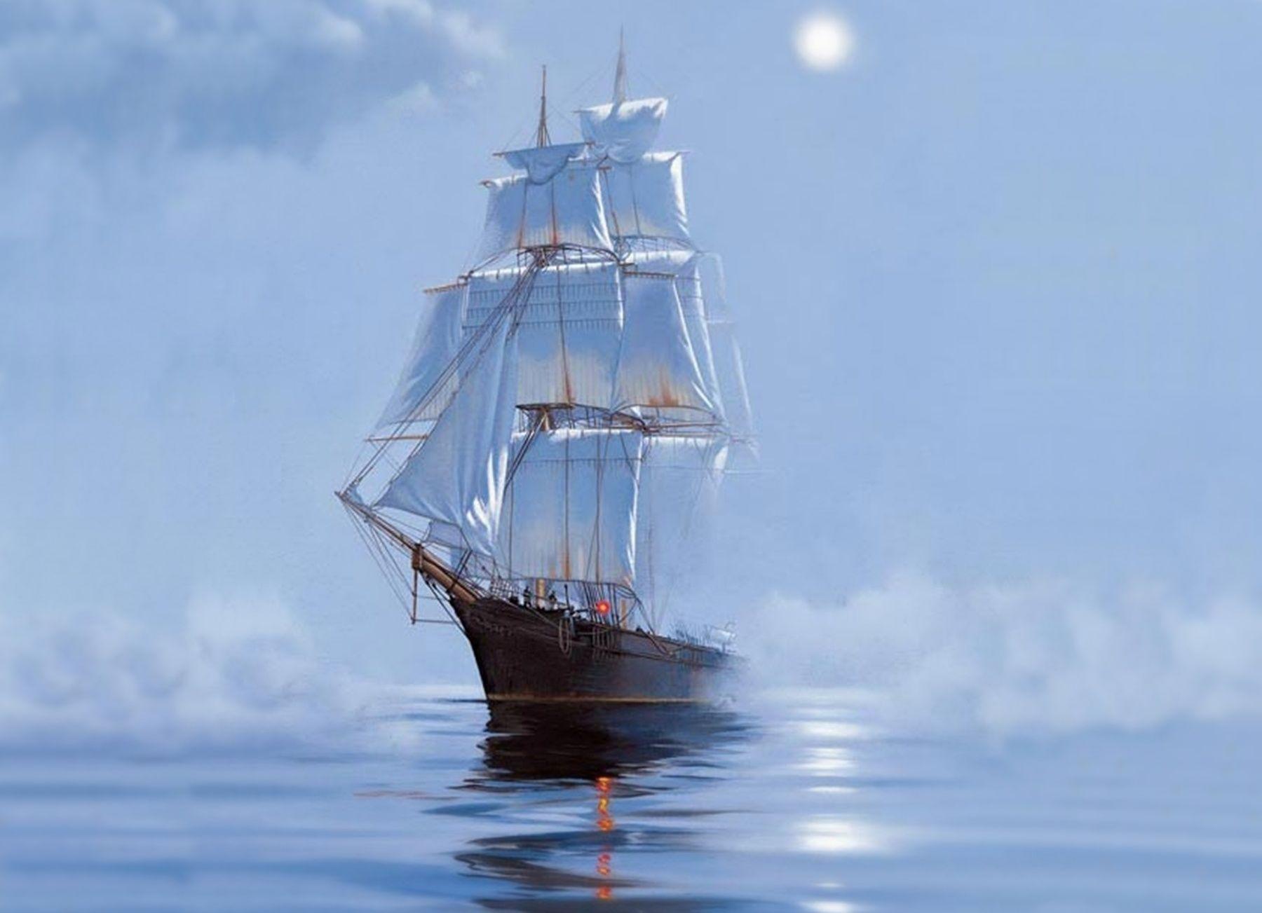 Fantasy ship cliff jolly roger pirate ship rock lightning wallpaper - Fantasy Ship Wallpaper