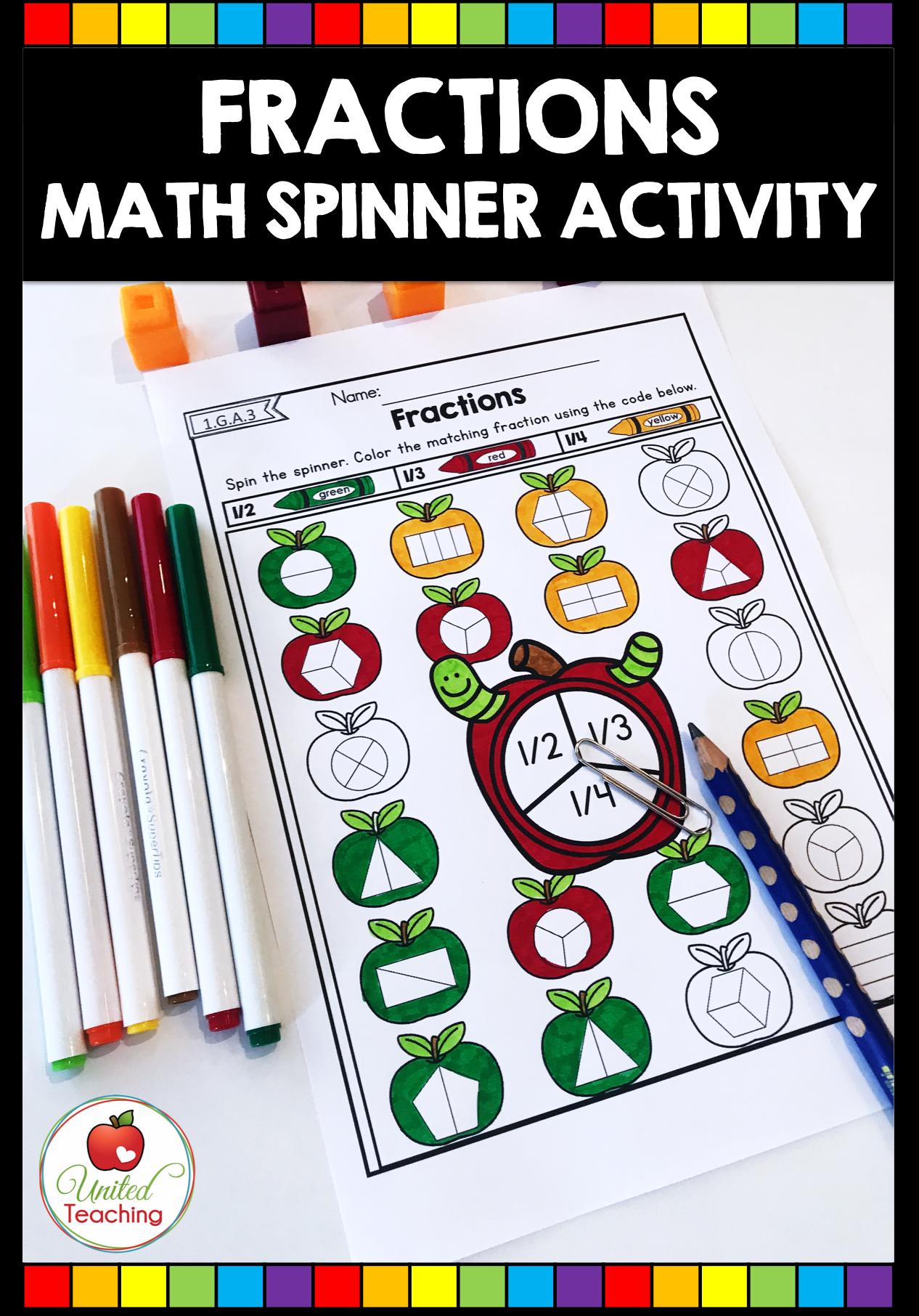 Fall Math Activities 1st Grade