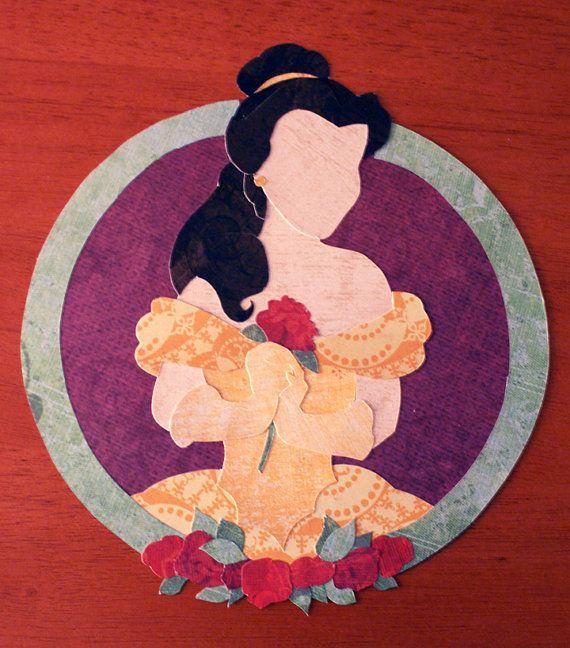 Paper Princess: Belle. via Etsy.