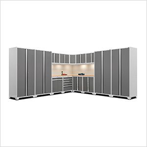 Pro Series 3 0 White 16 Piece Corner Set With Bamboo Tops