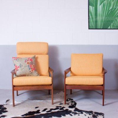 Located using retrostart.com > Lounge Chair by Illum Wikkelsø for Niels Eilersen