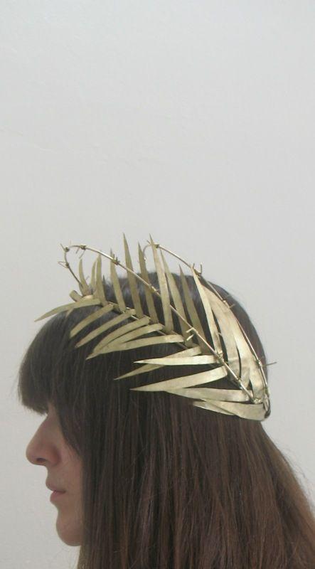 Kelle Kinser Sheet Metal Crown Metal Crown Headpiece Little Princess