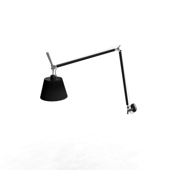 Tolomeo Mega Parete Onoff Black 320 Design And Decorate Your Room In 3d Lamp Light Wall Lights Lamp