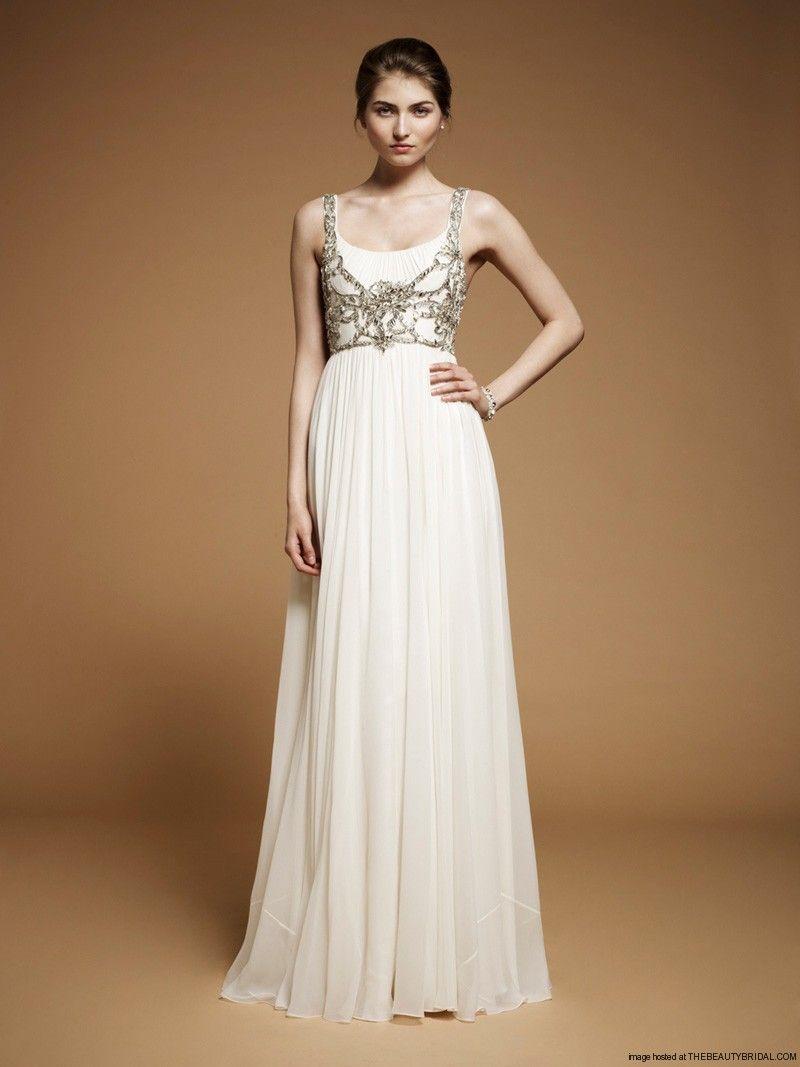 Jenny Packham bridal gown... lovely | The Rew E. Wedding | Pinterest ...