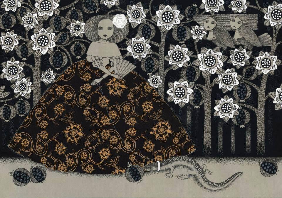 Viive Noor, Night in the Pomegranate Garden