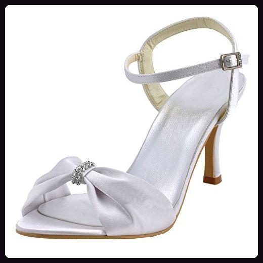 watch c9791 a5ba7 Kevin Fashion , Damen Modische Hochzeitsschuhe , Weiß ...