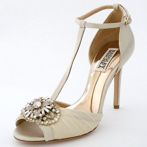 Badgley Mischka Wedding Shoes | Darling Vintage Bridal Shoes