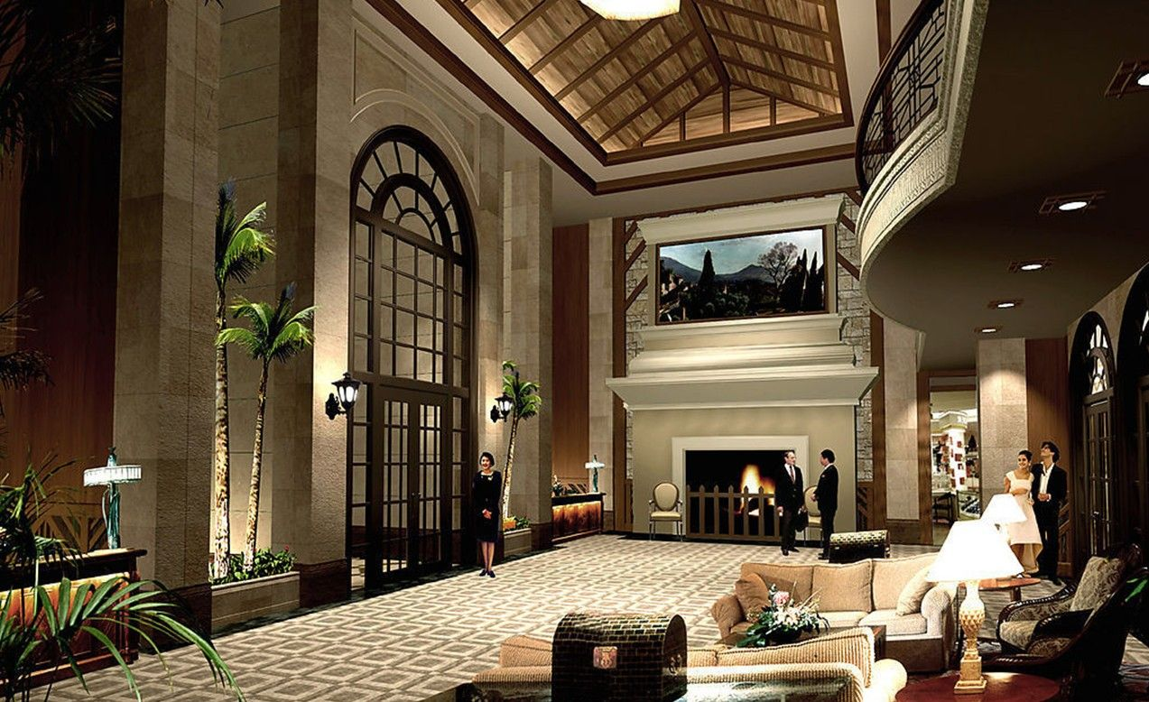 Hotel reception room ceiling design welcome to my home for Hotel reception design