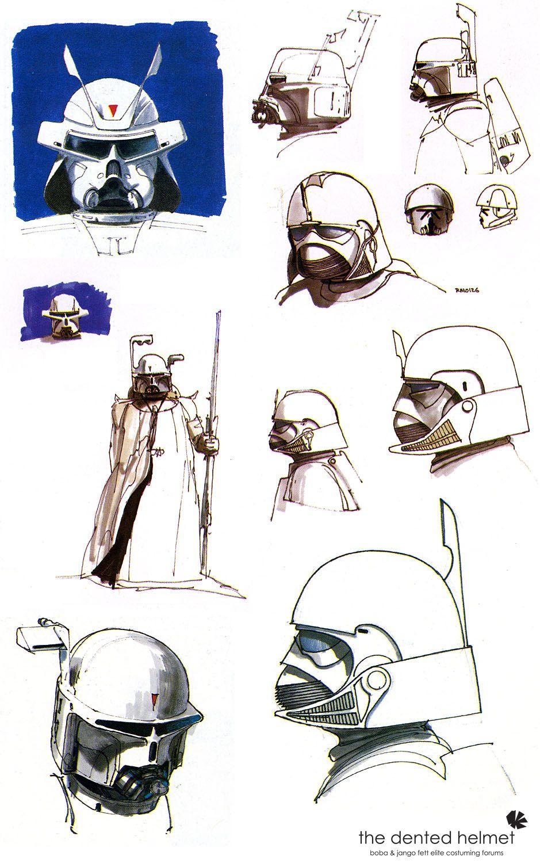 Sideshow Mcquarrie Boba Fett Concept 002 Star Wars Pinterest