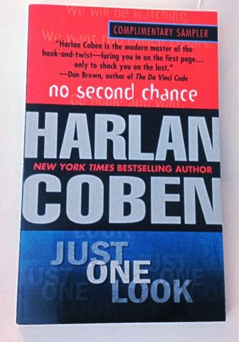 No Second Chance/Just One Look by Harlan Coben | #BookSpine365