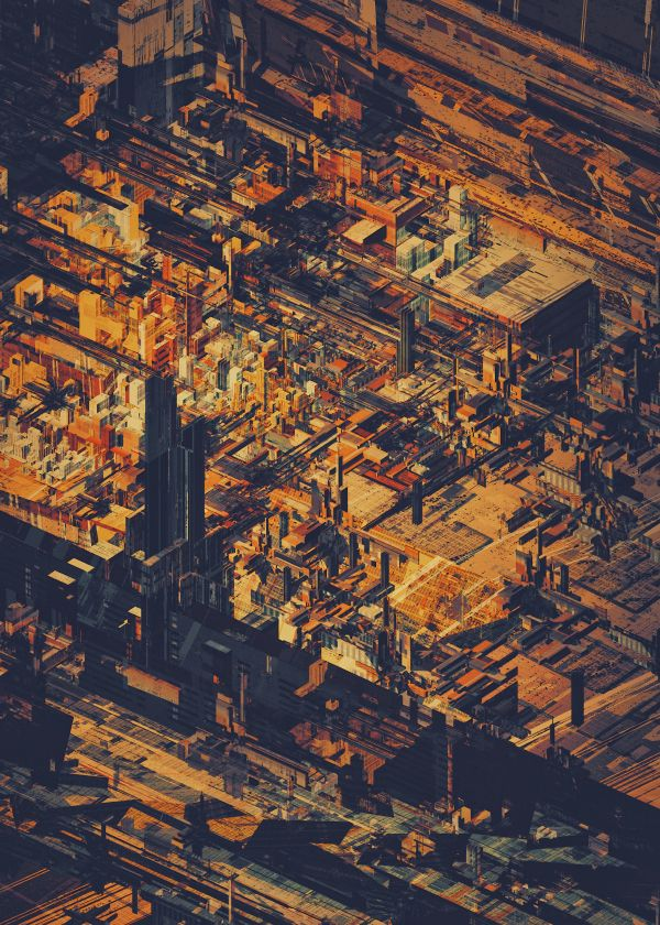 STRUCTURES V by atelier olschinsky , via Behance