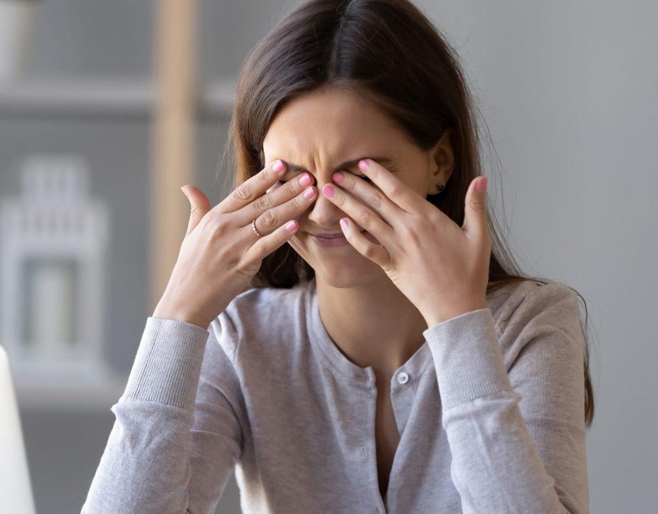 Pin de NANCI STEFANI RIBEIRO em Saúde Síndrome do olho