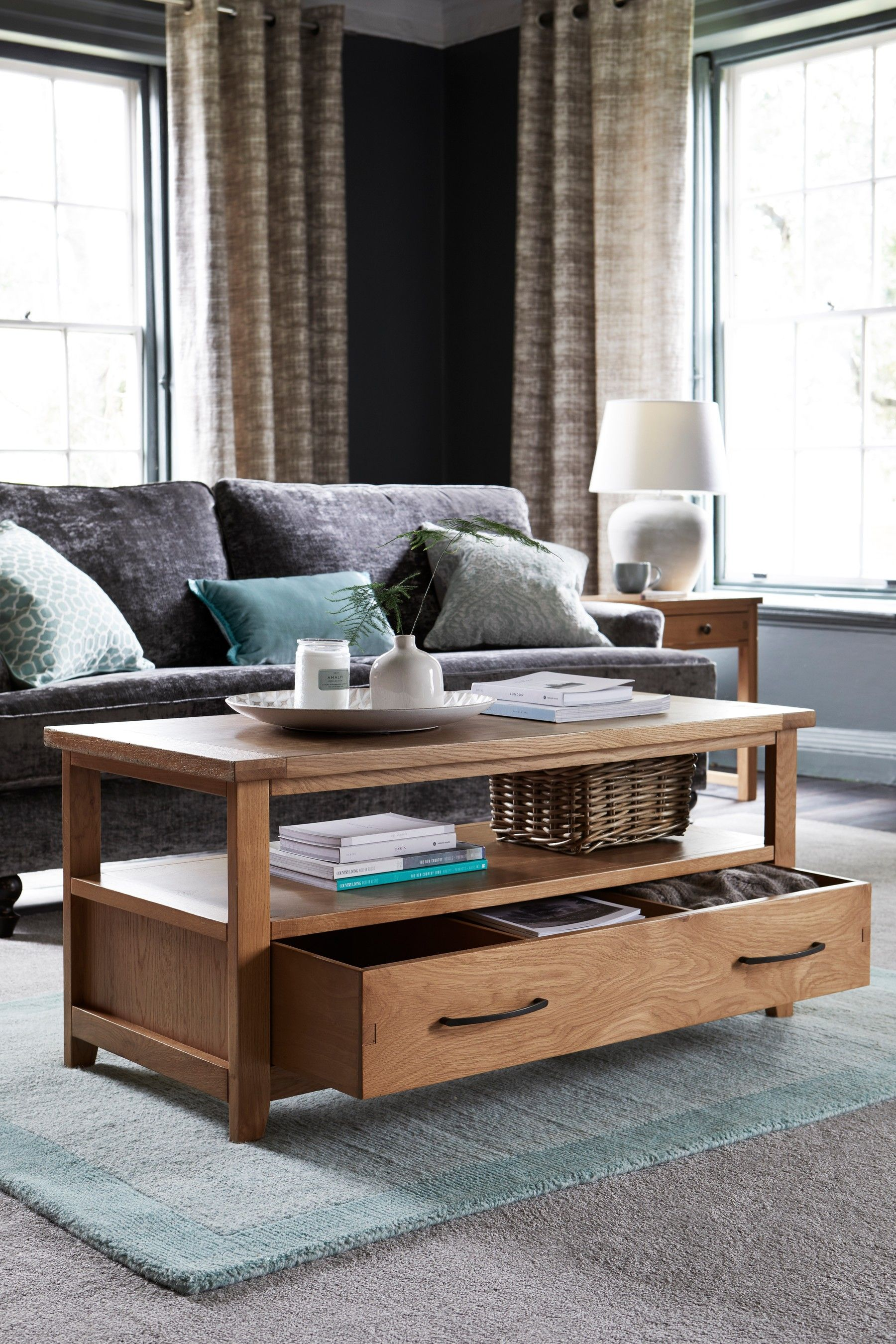 Next Thornley Oak Sideboard Natural In 2019 Country Style