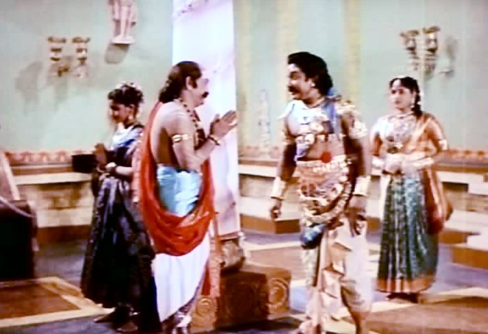 Veerapandiya Kattabomman 1959 Padmini Pictures Director B R Panthulu With Sivaji Ganesan Brother And Sister Love Character Role Film Producer