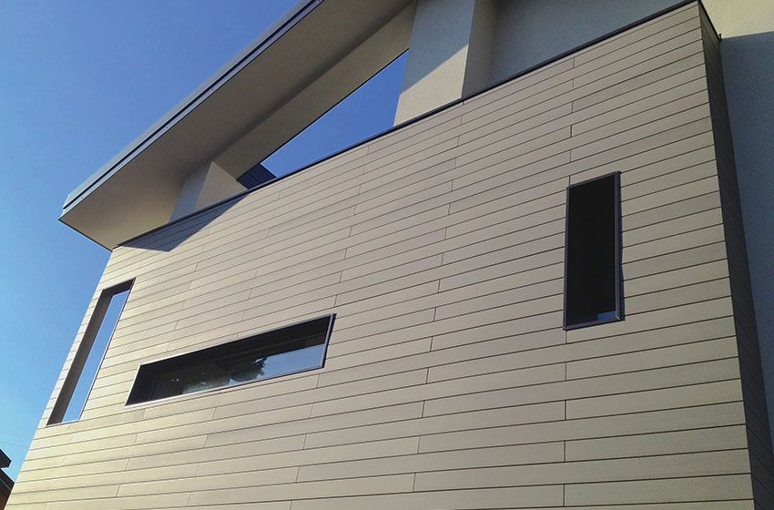 Cladding and Ventilated Walls Deco The Italian Decking