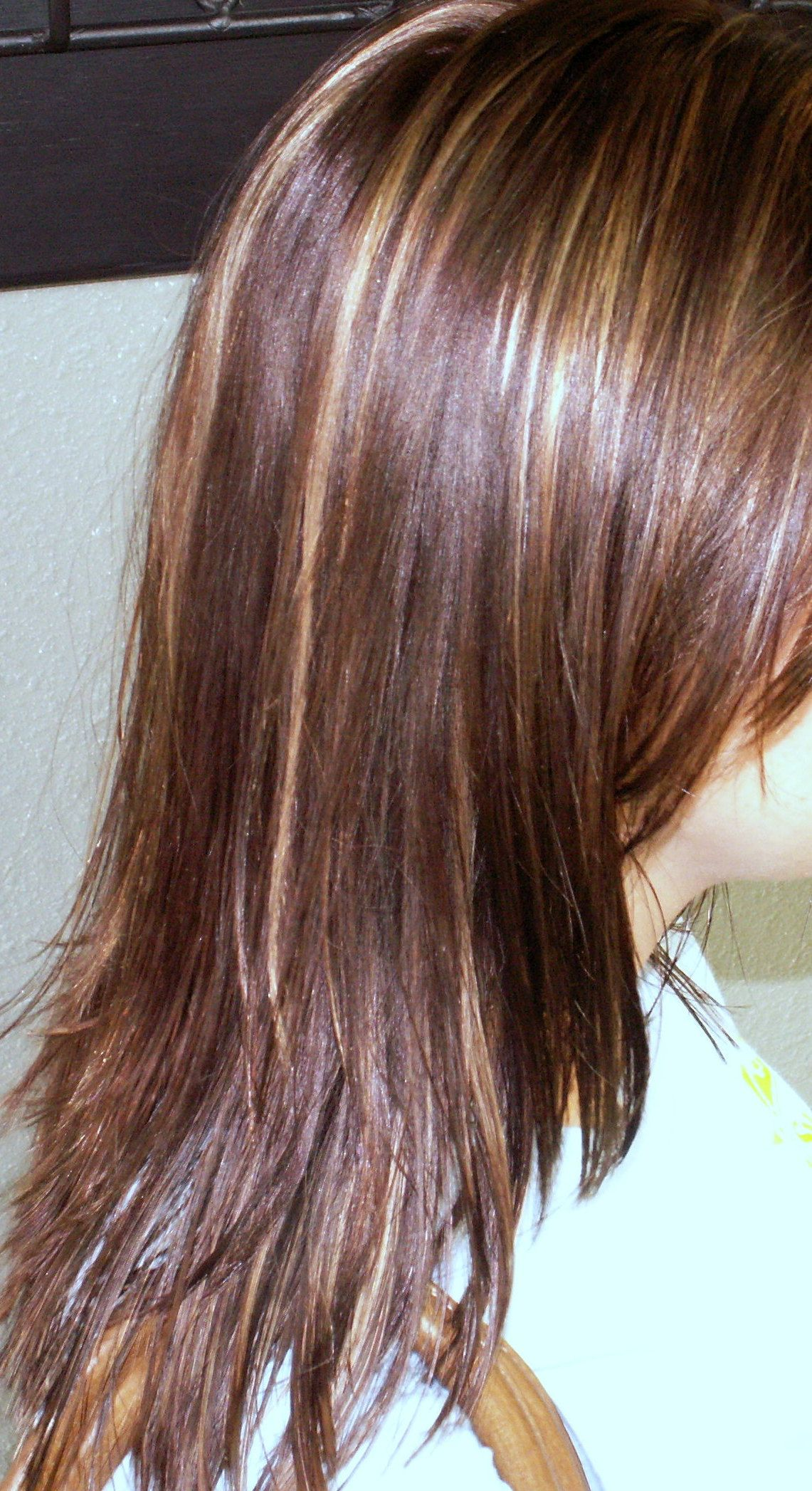 Heavily Highlighted Hair Was Weaved Applying Conditioner To All Hair