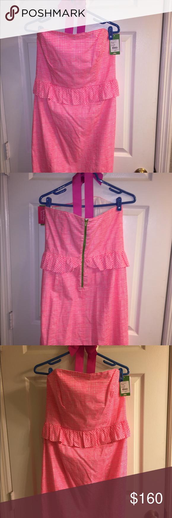 Lilly Pulitzer Lowe Peplum Dress, size 12