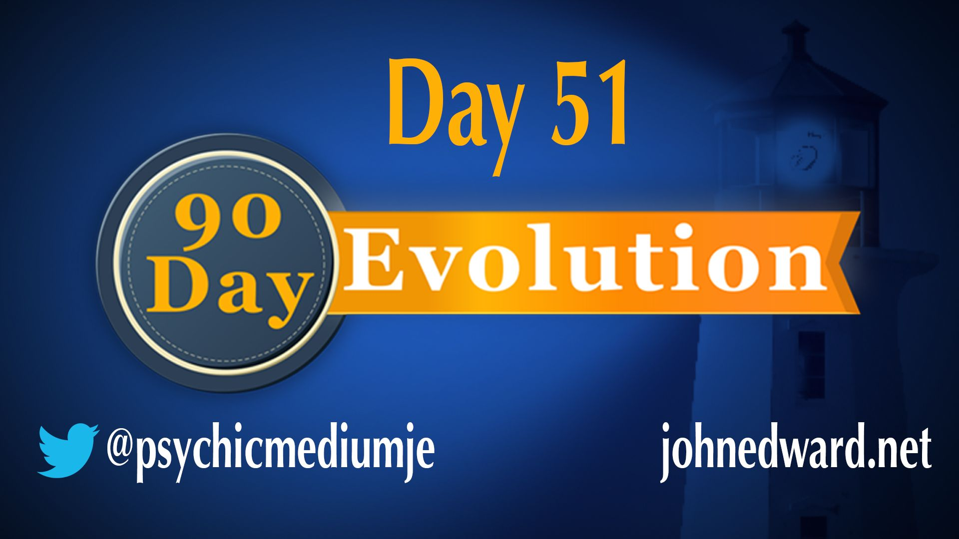 DAY 51 of the 90 Day Evolution focuses on CHALLENGE! Watch now: http://johnedward.net/evolution/5696