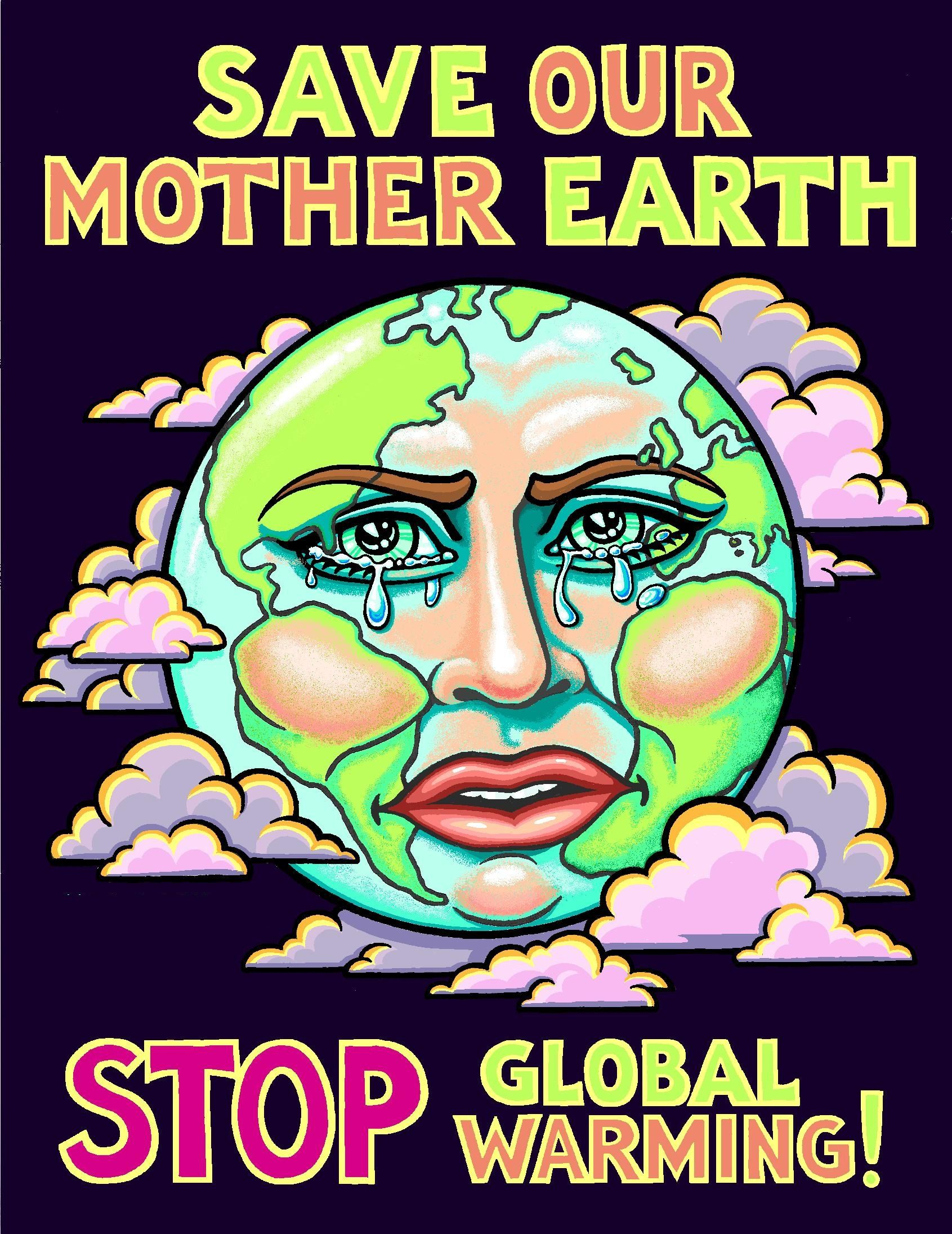 Poster On Save Earth Art Earth Poster Save Earth Posters Save