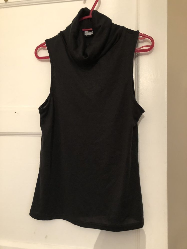 9b4e390e30f New Look Black Cowl Neck Top Size 8  fashion  clothing  shoes  accessories   womensclothing  tops (ebay link)