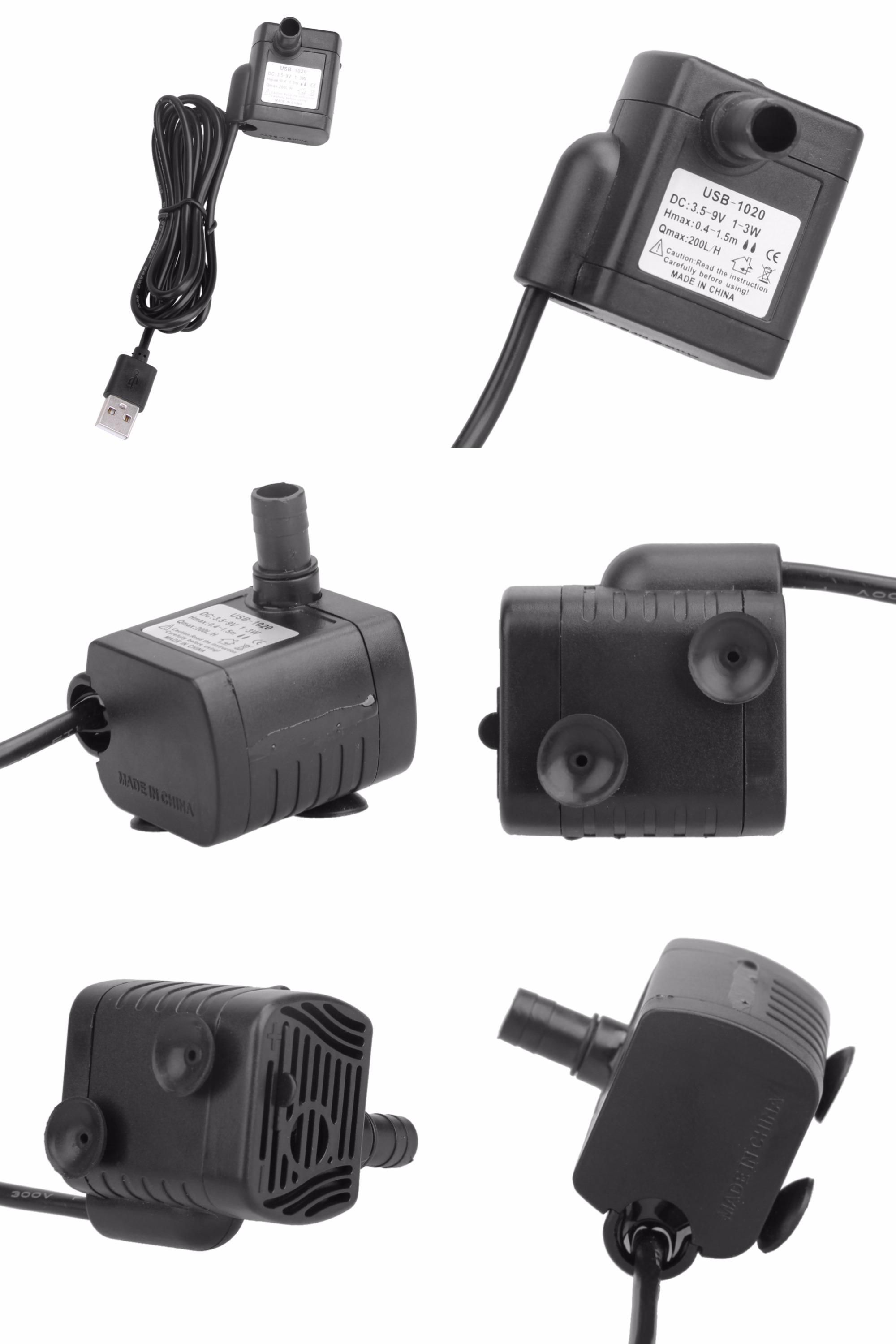 [Visit to Buy] DC 5.512V 3W USB Micro Submersible Water