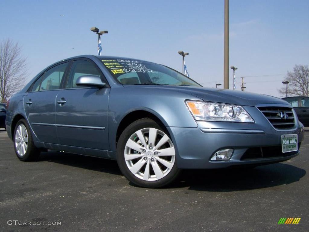 2010 Hyundai Sonata Limited V6 Medium Silver Blue Color Camel