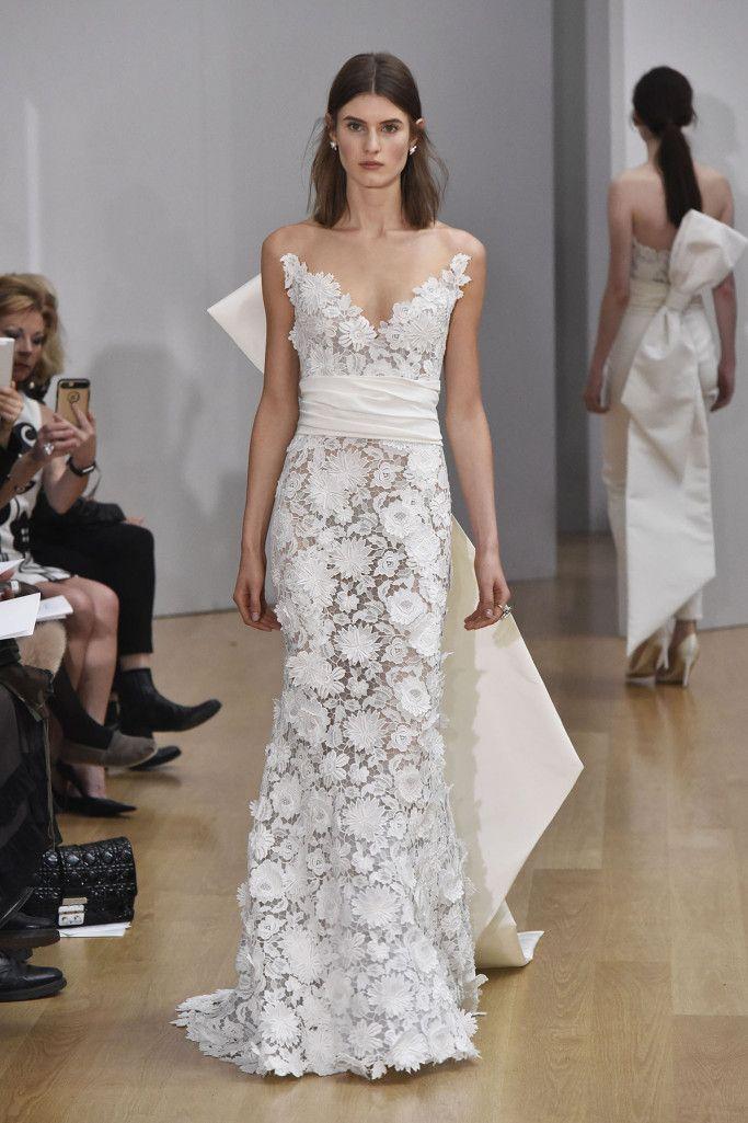 Oscar De La Renta Bridal Spring 2018 The Bridal Gown Bridal