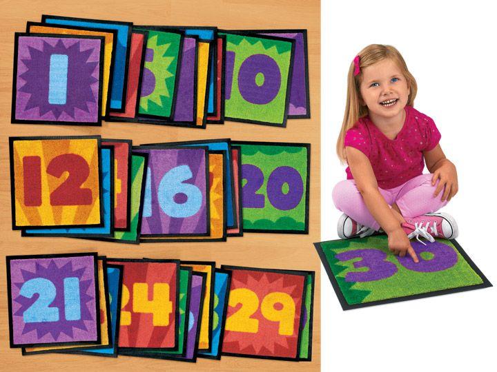 Lakeshore Number Carpet Squares Carpet Squares Diy Kids Table Carpet