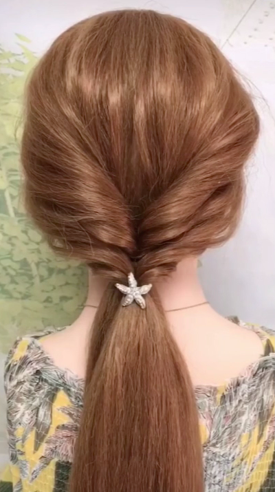Simple Quick Long Hair Style Video Tutorial Women Girls Girls Hair Long Quick Simple Style Tutorial Vid In 2020 Hair Styles Girl Hairstyles Medium Hair Styles