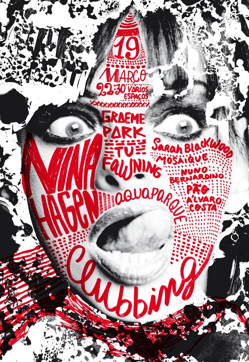 Los carteles de Sara Westermann   Typography, Poster design ...