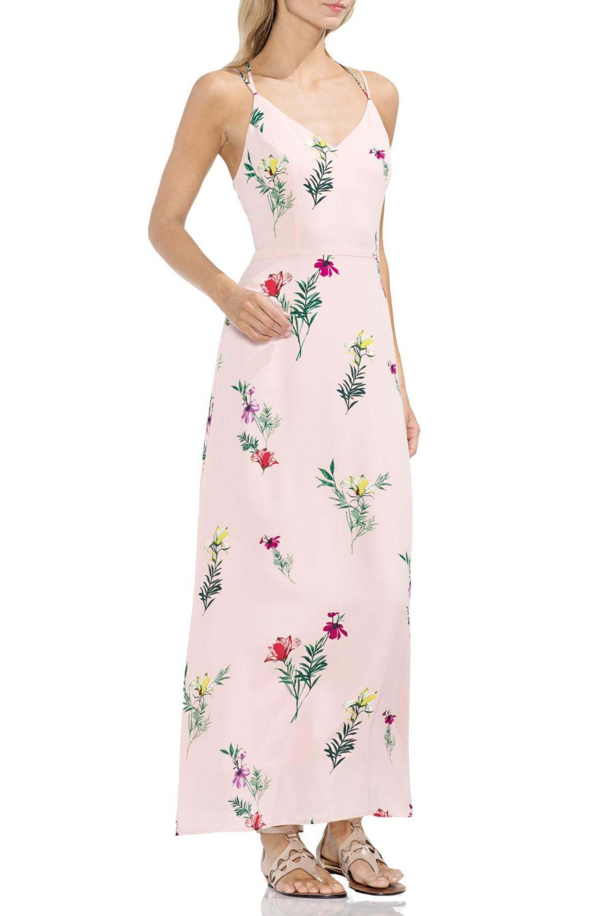 bd2050674452 Tropical Garden Maxi Dress | Products | Floral print maxi dress ...