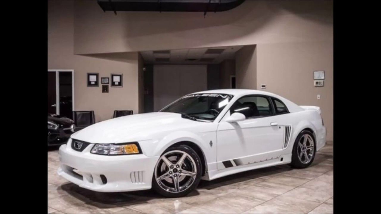 2000 Ford Mustang Gt Coupe 2 Door 2003 Ford Mustang Saleen Clone White Procharger 407hp Cobra R Recaro Ford Mustang Saleen 2003 Ford Mustang 2000 Ford Mustang