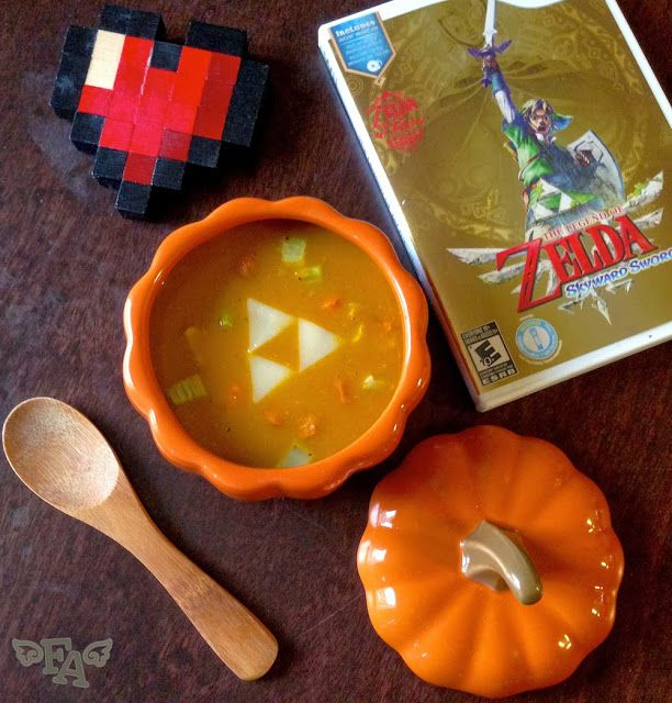 Food adventures in fiction pumpkin soup from the legend of food adventures in fiction pumpkin soup from the legend of zelda forumfinder Images