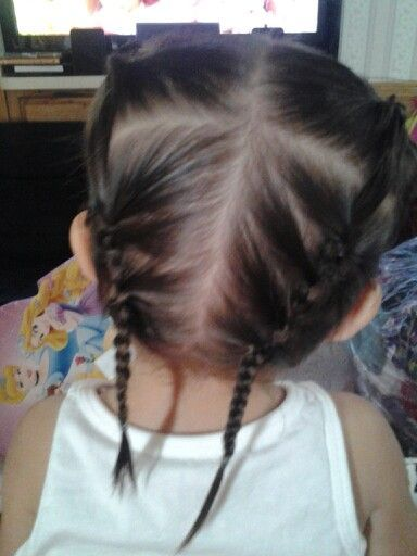 hairstyles toddlers with thin
