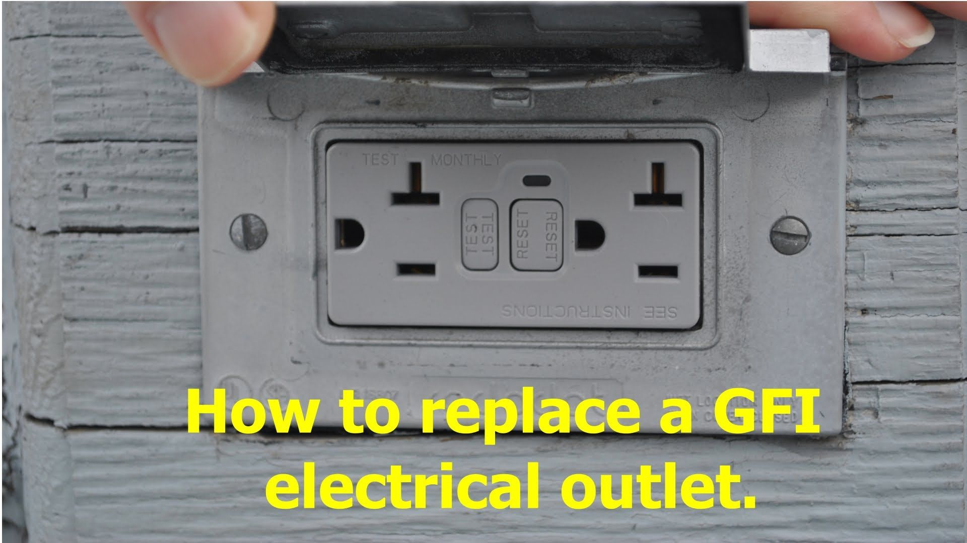 The Built In Circuit Breaker On A Exterior Gfci Outlet Would Not How To Test Reset Includes Tutorial Using Finding Tool