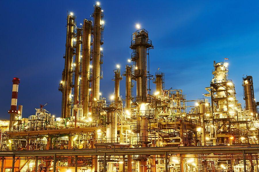 Lights Oil Refinery Refinery Crude Oil