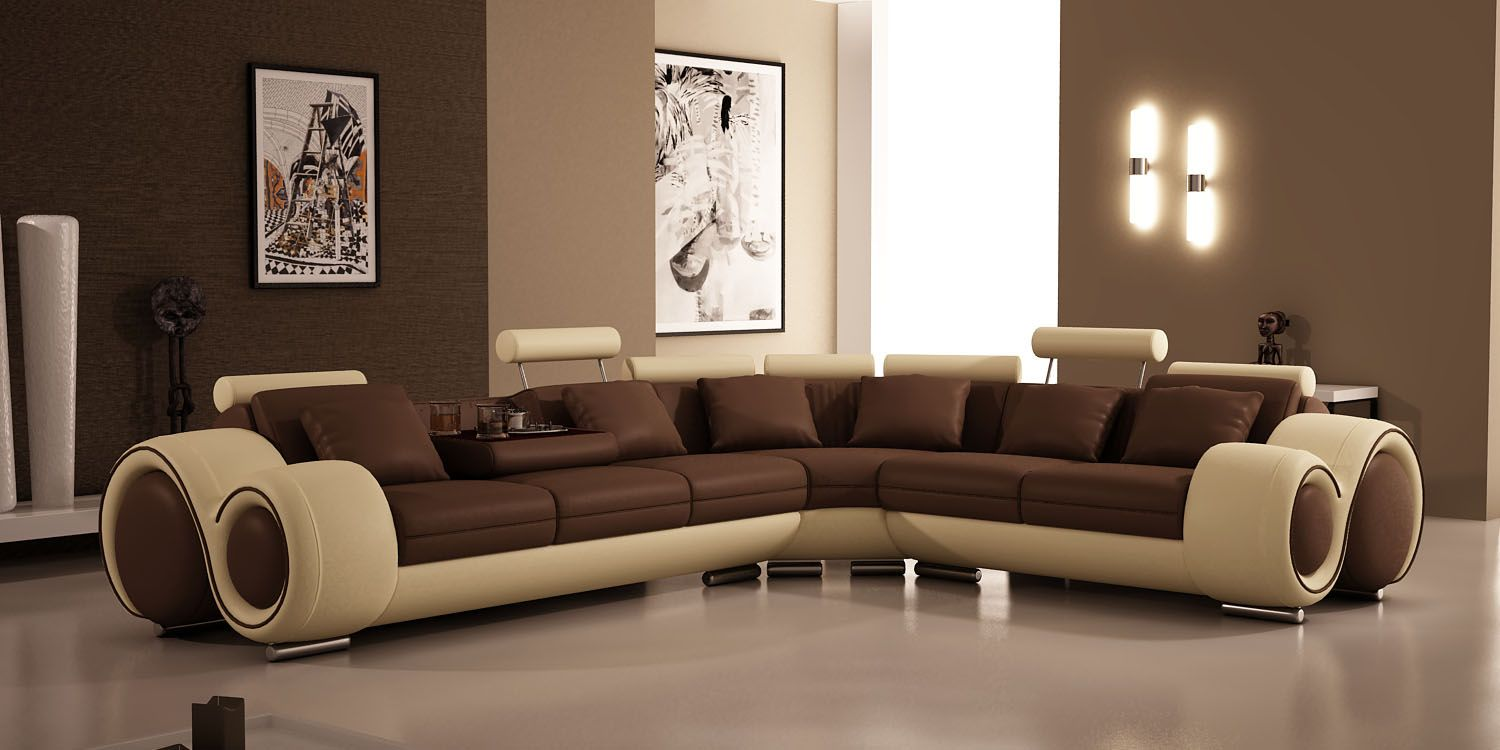 Picture Of List Of Best Sectional Sofa Brands Modern Leather