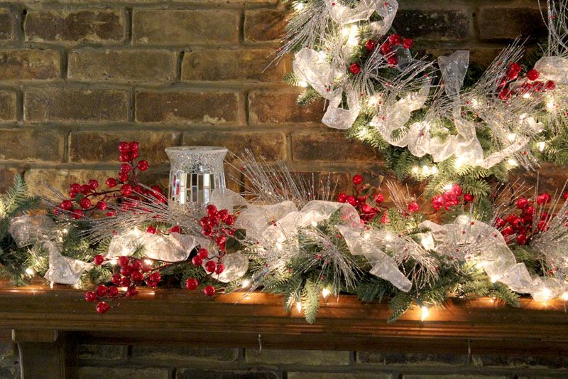 designer decorated christmas mantles christmas mantel decorating ideas amazing christmas ideas - Images Of Fireplace Mantels Decorated For Christmas