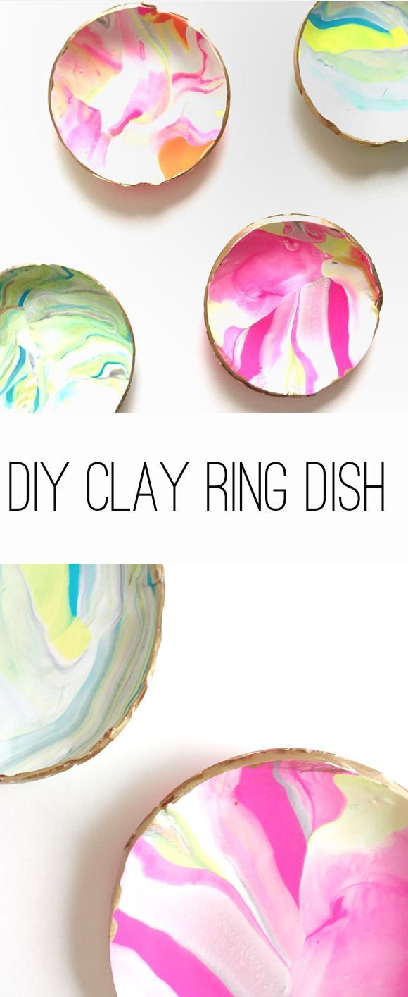 DIY Clay Ring Dish -- You can find more details by visiting the image link.