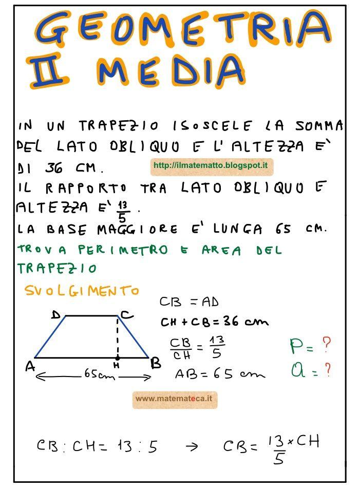 Problema di Geometria Svolto per la Seconda Media ...