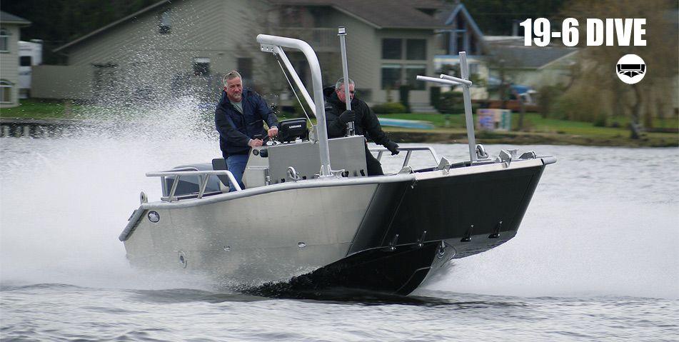 Munson 19 Series Custom Welded Aluminum Boats Landing