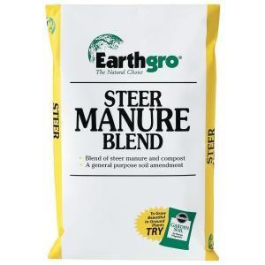 1 Cu Ft Steer Manure Compost Blend 71751185 The Home Depot Manure Composting Manure Organic Compost