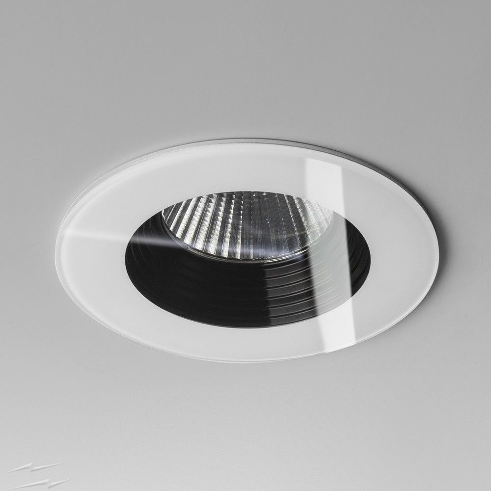 Ip65 fire rated vetro round white led downlight 6w 2700k 594lm ip65 fire rated vetro round white led downlight 6w 2700k 594lm dimmable led recessed light aloadofball Choice Image