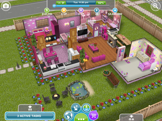 The Sims Freeplay House Design Competition Winners Casa Sims Sims Free Play Sims