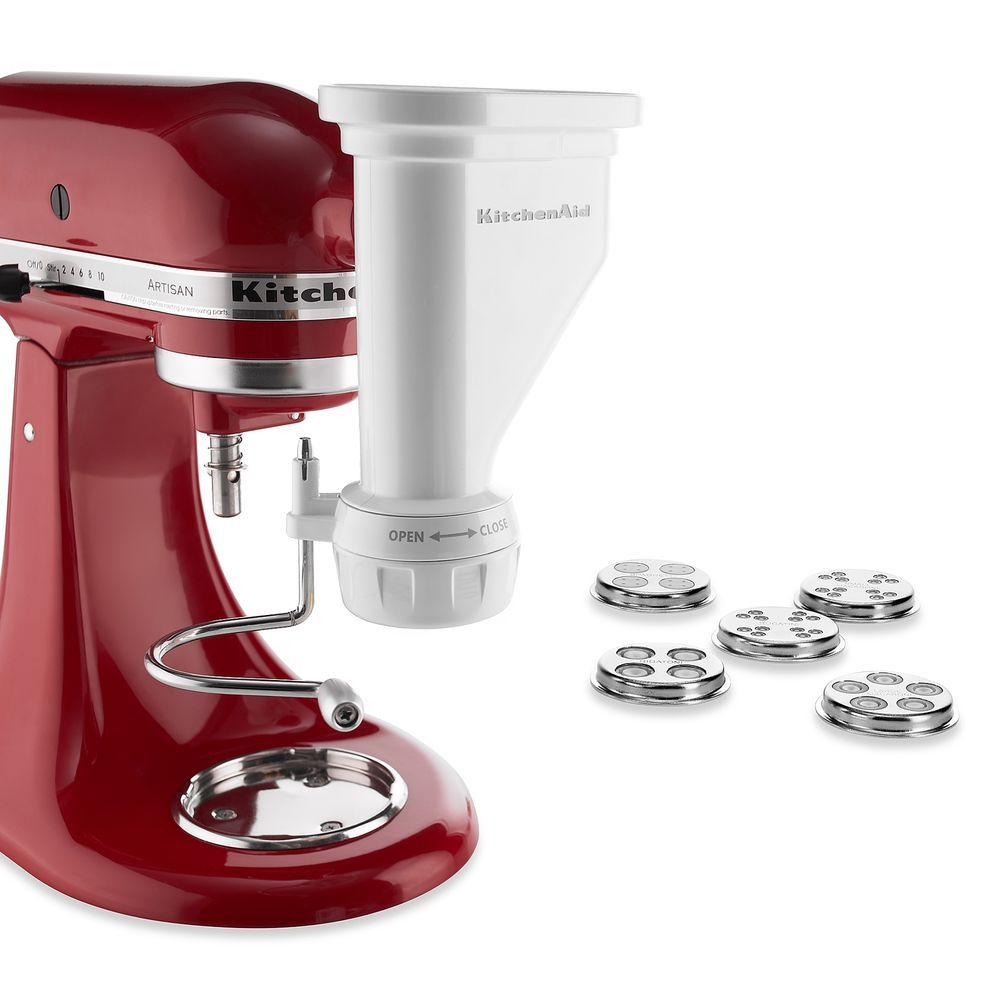 Kitchenaid pasta press maker attachment noodle machine