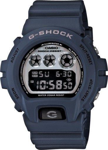 730e08681b6 G-Shock - DW 6900 Watch (Blue)  110