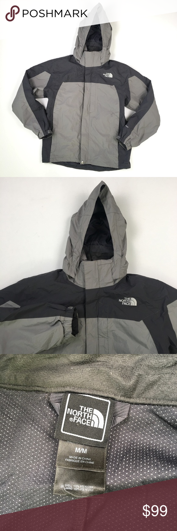 North Face Grey Hyvent Mens 3 In 1 Jacket M B6607 3 In 1 Jacket Jackets The North Face [ 1740 x 580 Pixel ]